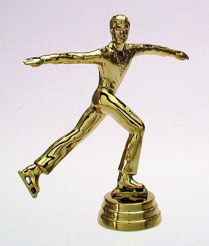 Eiskunstläufer Gold 117mm
