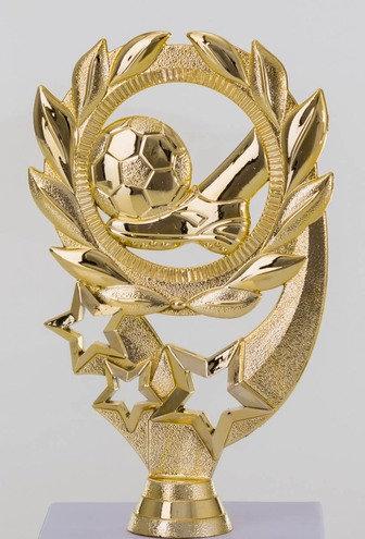 Fussball Figur Gold  140mm