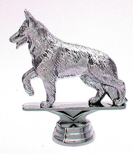 Schäferhund Silber 107mm