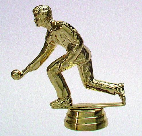 Kegeln Figur Gold 103mm