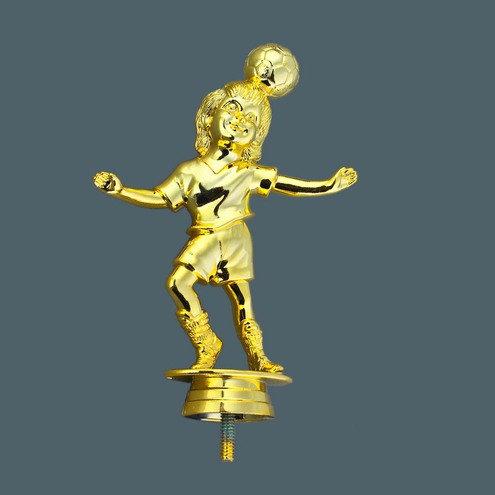 Fussball Mädchen Gold 150mm
