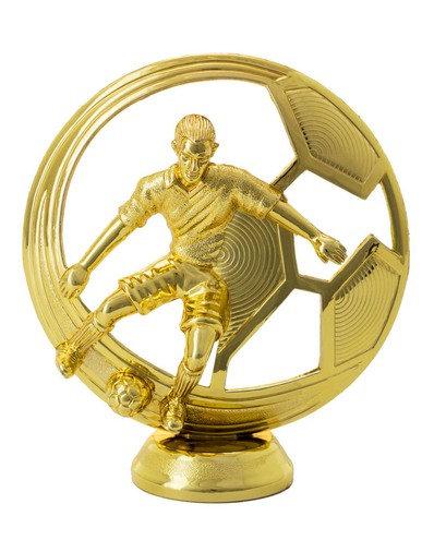 Fussball Figur Gold  127mm
