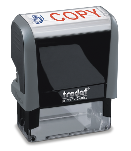 Trodat Printy office 4912 COPY   47x18mm