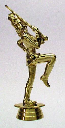 Karneval Figur Gold 152mm