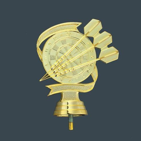 Dart Pfeile und Scheibe Gold 113mm