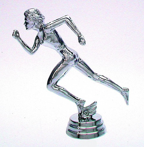 Leichtathletik Damen Silber 108mm