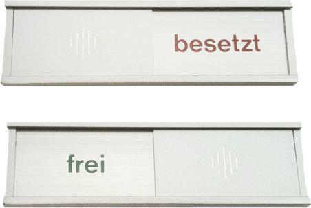 Frei-Besetzt Schild 150x40mm
