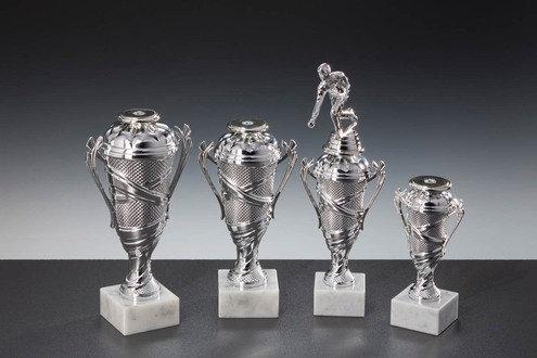 Pokalserie Alpha 124S Silber (157mm bis 228mm)