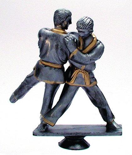 Judo Kämpfer Resin 120mm