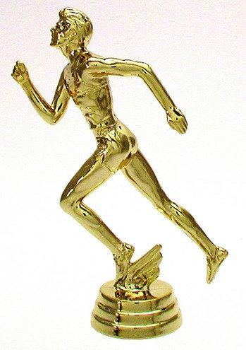 Leichtathletik Herren Gold 114mm