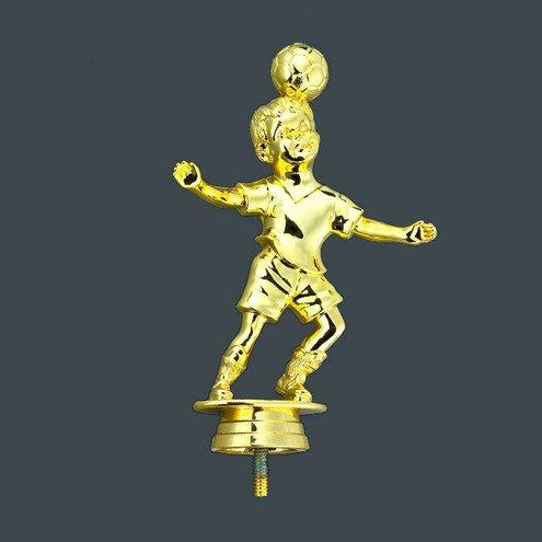 Fussball Junge Gold 150mm