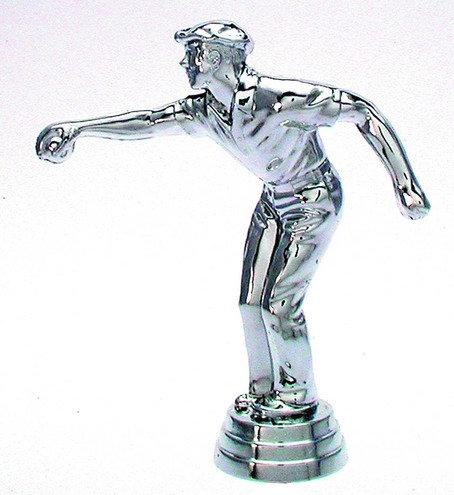 Bosseln Figuren Silber