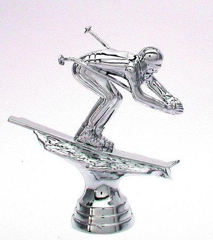 Abfahrt Silber 109mm