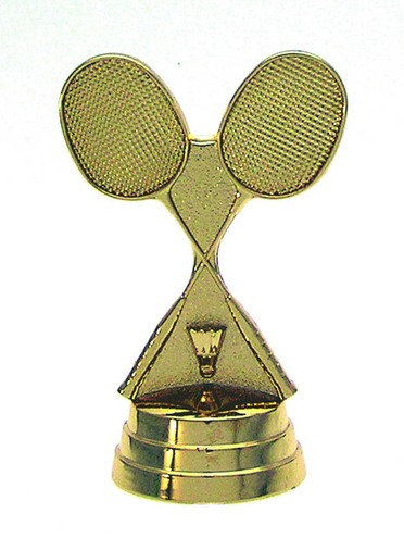 Badminton Schläger Gold