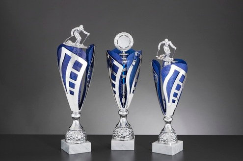 Pokalserie Alpha 123 Silber Blau (467mm bis 522mm)