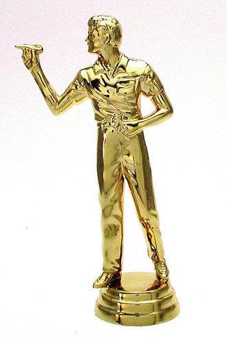 Dart Figur männlich Gold 129mm