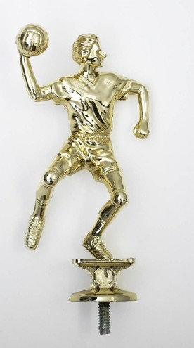 Handball Figur Herr Gold 129mm