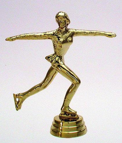 Eiskunstläuferin Gold 117mm
