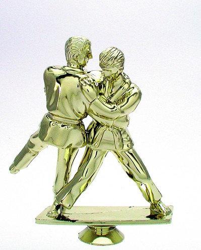 Judo Kämpfer Gold 120mm