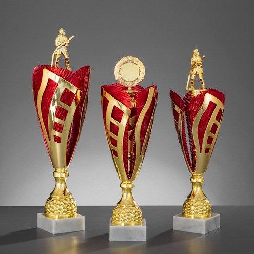Pokalserie Alpha 122 Gold / Rot (467mm bis 522mm)