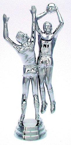 Basketball Figuren Silber