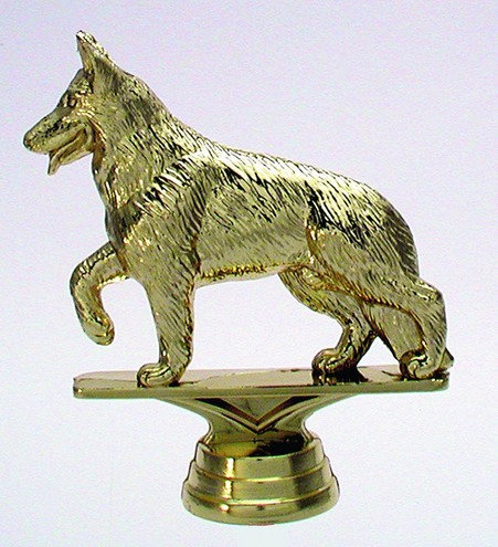Schäferhund Gold 107mm