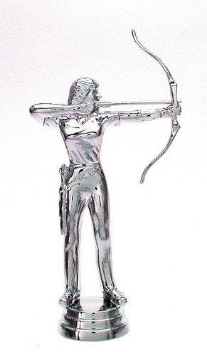 Bogen Schiessen Damen Silber 127mm