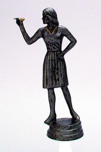 Dart Figur weiblich Resin 129mm
