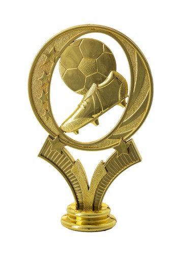 Fussball Schuh Gold  127mm