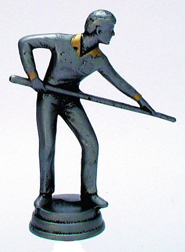 Billard Figuren Resin
