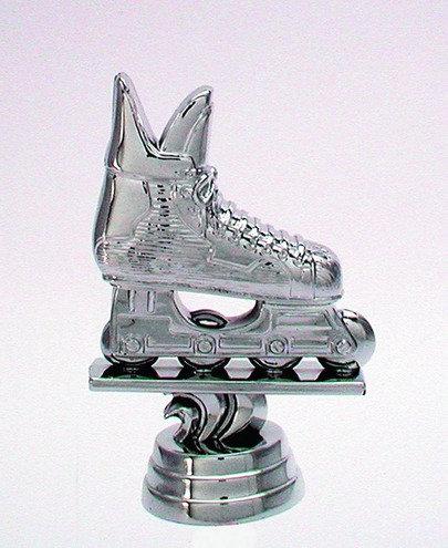 Inline Skates Silber 96mm