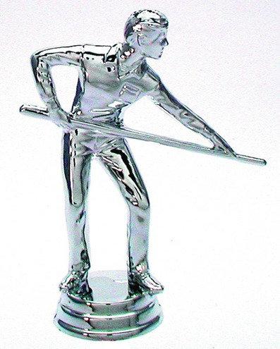 Billard Figuren Silber