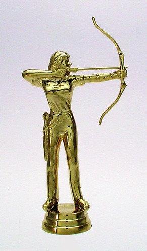 Bogen Schiessen Damen Gold 127mm