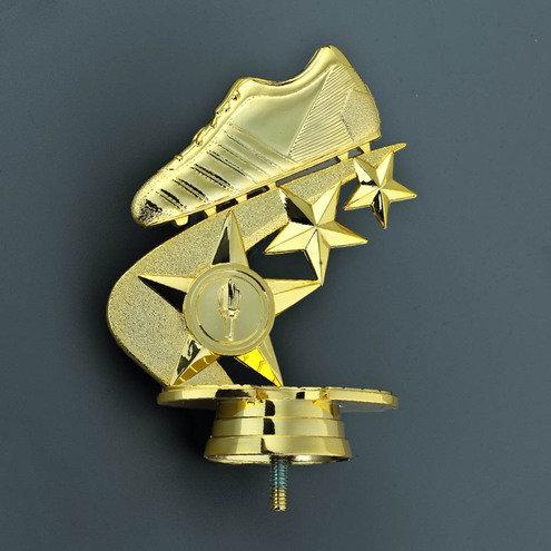 Fussball Schuh Gold 138mm