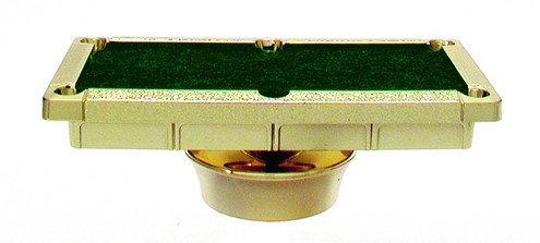 Billard Tisch Gold & Grün