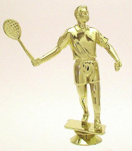 Badminton Figur Gold