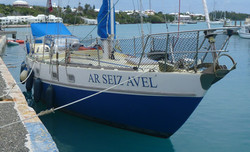 moored Bermuda