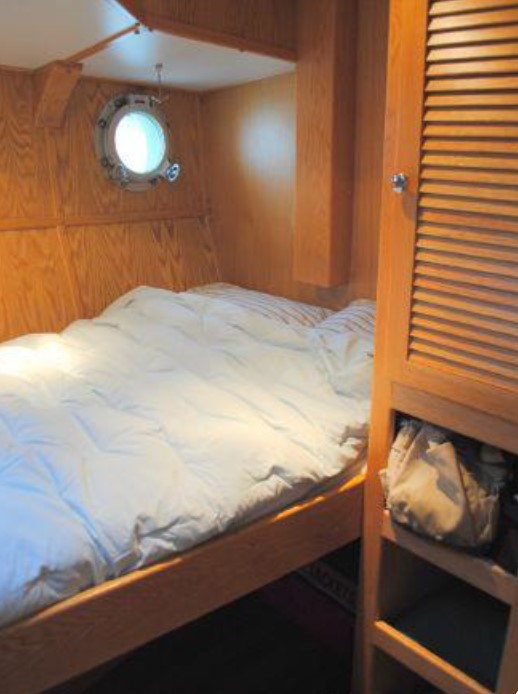 Guest stateroom to port aft