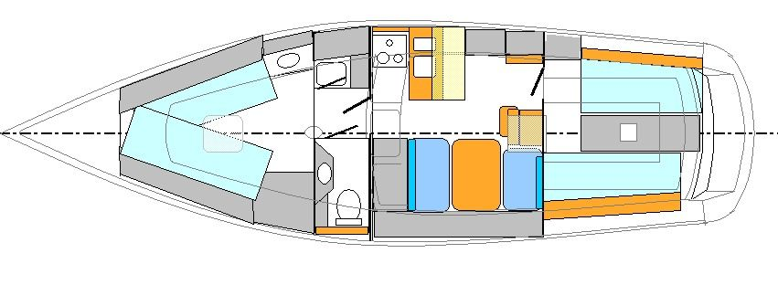 Layout interior