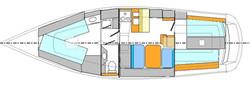 Layout interior