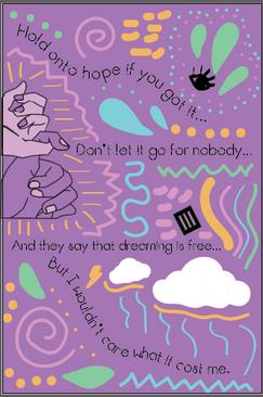 PMore Lyric Poster