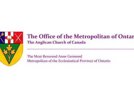 On a Summer Sabbath Rest: A letter from the Ontario House of Bishops to the faithful in Christ