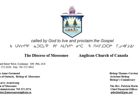 A Call to Holy Discernment for the Diocese of Moosonee in 2020