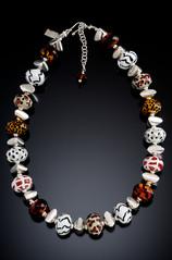 BLN123 Safari Animal Print Necklace