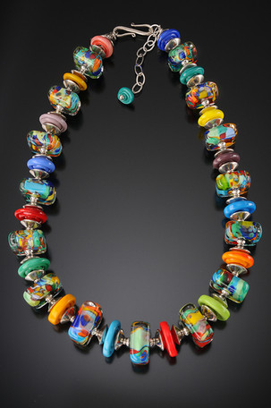 BLN117 Picasso Necklace