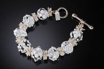 B504 Summer Chic White Bracelet