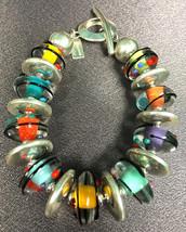 B511 Multicolor Encased Pillow Bracelet