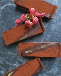 Spiced Chocolate Tart