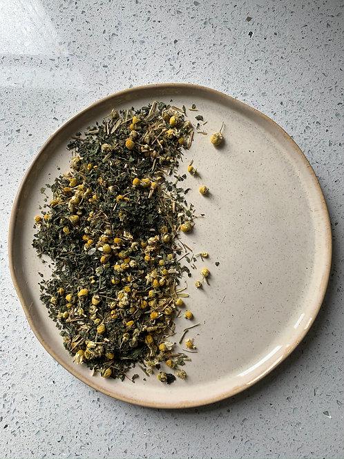 Spice & Green Herbal Tea - Chamomile, Oat Straw & Nettle