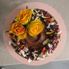 Vegan Chocolate Celebration Cake